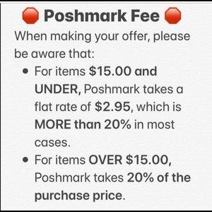 Poshmark fees